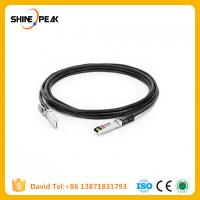 Buy cheap 1m SFP28 to SFP28 passive copper core high-speed branch cable 30AWG from wholesalers