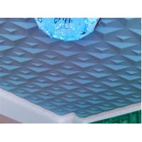 Quality Ceiling 3D Wall Art PVC Wall Panels Embossed Wall Decals Modern 3D Wall Background for Sofa for sale