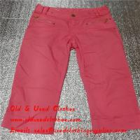 Quality Top Grade Fashion Used Female Clothing Second Hand  Jeans For Men And Women for sale