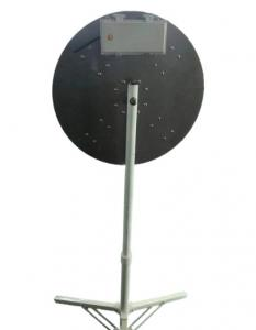 Quality 3M no-access sign Manual regulation iron pipe LED Arrow Board for sale