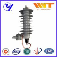 China 5KA Silicon Rubber Polymer Surge Arrester With Insulating Bracket on sale