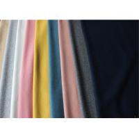 ISO9001 Lightweight Melton Wool Fabric In Stock 60% Wool 580 Gram Per Meter