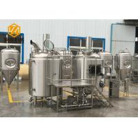 Large Capacity Professional Brewing Equipment All 304 Completed Six Systems