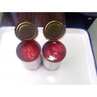 Quality canned whole peeled tomato 3000G*6tins A10 for sale
