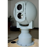 Quality Uncooled VOx FPA Intelligent IR Electro Optical Tracking System for Border Surveillance for sale