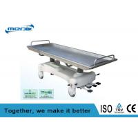 Quality Hydraulic Electric Patient Transfer Trolley Removable Stainless Steel Top for sale