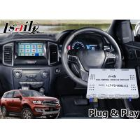 Quality Ford Everest Android 6.0 Auto Interface for SYNC 3 System Built in Mirrorlink WIFI Bluetooth and GPS Navigation for sale