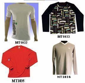 China Men & Women T-shirt List 01 on sale