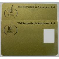 Buy cheap RFID Higgs 3 magnetic custom printed Plastic Loyalty Cards with Dual Frequency product