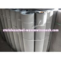 Quality 250 - 635 Mesh Stainless Steel Wire Cloth , Woven Metal Mesh Anti - Corrosion for sale