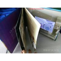 Quality 7 inchMultipages lcd screen printed video card / video mailer with durable battery for sale