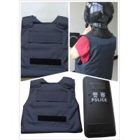 China Military Police Safety Protection Products Concealable Stab Proof Vest Soft Body Armor on sale