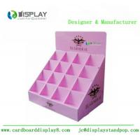 Quality Shop Retail Table Top Cosmetic Display Stand Cardboard Customized Size for sale