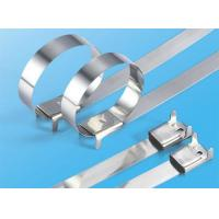 Buy cheap Ss316 Releasable Naked Stainless Steel Cable Zip Ties For Electricity Use from wholesalers
