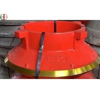 Quality High Manganese Steel M18Cr2 Cone Crusher Grinding Ball Mill Liners for sale