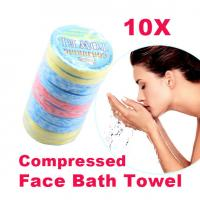 Quality Magic Compressed Portable Mini Outdoor Travel Compressed Face Towel Compressed Hand Towel for sale