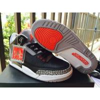China Air Jordan 3 Retro infrared 23 Men Shoes Black White Review From tradingaaa.com on sale