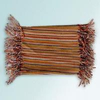 Quality 140cm Multicolor Striped Scarf Made of 100% Acrylic for sale