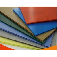 Buy Colorful Polypropylene Corrugated Plastic Sheets exhibition board at wholesale prices