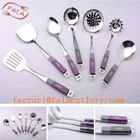 Quality Promotional Food Grade Stainless Steel Skimmer Spoon for sale
