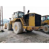 Quality 988g Used Caterpillar Wheel Loader 3456eui Engine 520hp Engine Power for sale
