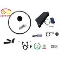 Buy cheap 48V 500W Black Electric In Wheel Motor Kit With Down Tube Type Battery product