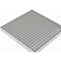 Quality Stainless Steel Grating Walkway40mm Bearing Bar Pitch Twisted / Round Bar for sale