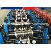 China Highway Guardrail Roll Forming Machine , Crash Barrier Roll Forming Machine on sale