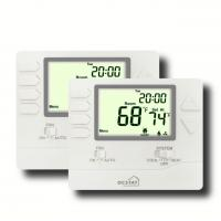 Quality Non Programmable FCU HVAC Thermostat Auto / Manual Control High Accuracy for sale