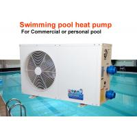China 2-25HP Swimming Pool Heat Pump Low Energy Consumption With Titanium Heat Exchanger on sale