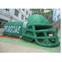 Buy cheap OEM Safety Oxford  Helmet Channel Inflatable Tent For Children Activities product