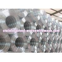 Quality Custom 1 X 1 Welded Steel Mesh Rolls , Stainless Steel Welded Mesh Corrosion Resistant for sale