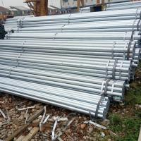 Quality Hot Dipped Galvanized Steel Round Pipe / Welded GI Pipe Custom Diameters Zinc Coating for sale