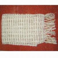 Quality Acrylic Knitted Scarf with Lurex for sale