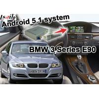 Quality BMW E90 3 series CIC system Vehicle DVD Players , Mirror link Android 5.1 Navigation Box for sale
