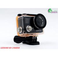 2 Inch Dual Screen 4k Waterproof Action Video Camera K8 360VR 170 Degree