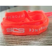 Quality Professional Custom Fluorescent Color Clothing Elastic Band With Special Logo for sale