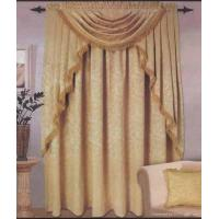 Quality brilliant decorative metal beads curtain fabric for sale