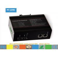 Buy cheap Temperature Models Industrial Media Converter 6-Port Gigabit Industrial Managed Switch from wholesalers
