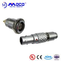Quality 0B 2 pin male and female circular push pull connector for Infrared Camera for sale