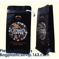 Buy Kraft Stand Up Pouches Clear Stand Up Pouches Jute Look Stand Up Pouches Striped Stand Up Pouch with Rectangular Window at wholesale prices