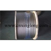 China sell xinglong galvanized aircraft cable and aisi 304 stainless steel aircarft cable on sale