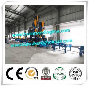China Automatic H Beam Assembling Machine , H Beam Straightening Machine CE / ISO on sale