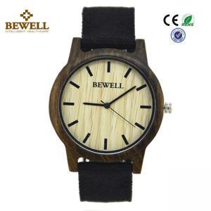 Quality Black Sandalwood Original Custom Wood Watches Hand Made Japan Pc21 Movement for sale