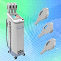 Quality Best IPL laser Beauty machine with 3 hand pieces for skin care hair removal for sale