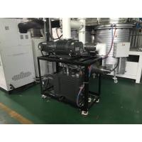 Quality 450KG Green Vacuum Pump System 1080 m³/h Oil Sealed Vacuum Pump Booster System for sale