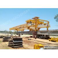 Buy cheap Beam Launcher Gantry Crane for railway construction project with Reliable performance product