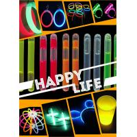 China China flashing chemical glow sticks glow bracelet glow necklace glow in the dark for party supllies on sale