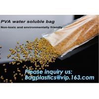 Quality Dissolvable Biodegradable Laundry Bags Water Soluble Liquid Detergent for sale