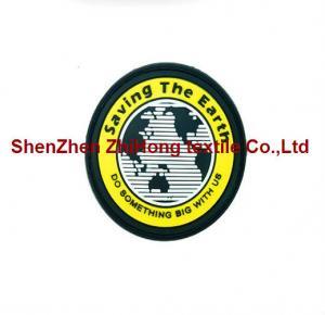 Quality Customized logo design PVC badge/medal/epaulet/armband for sale